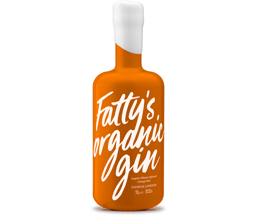 Fatty's Organic Winter Spiced Orange Gin | 70cl | 37.5%vol