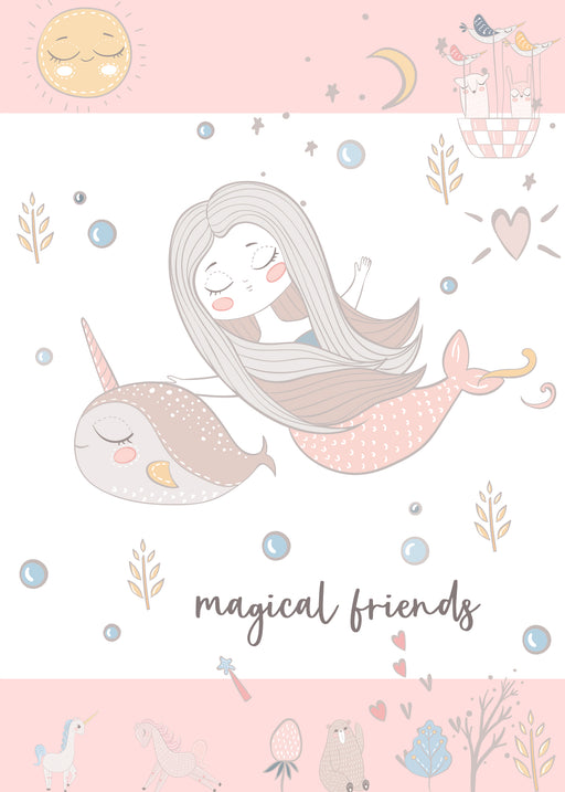 Best Friends Card -  Magical Friends