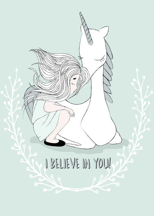 I believe in you Card - Motivational and Inspirational Card for best friends