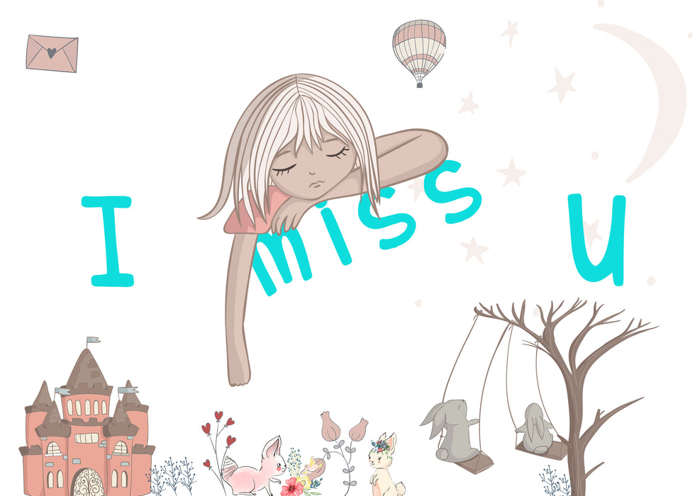 I Miss You - Card