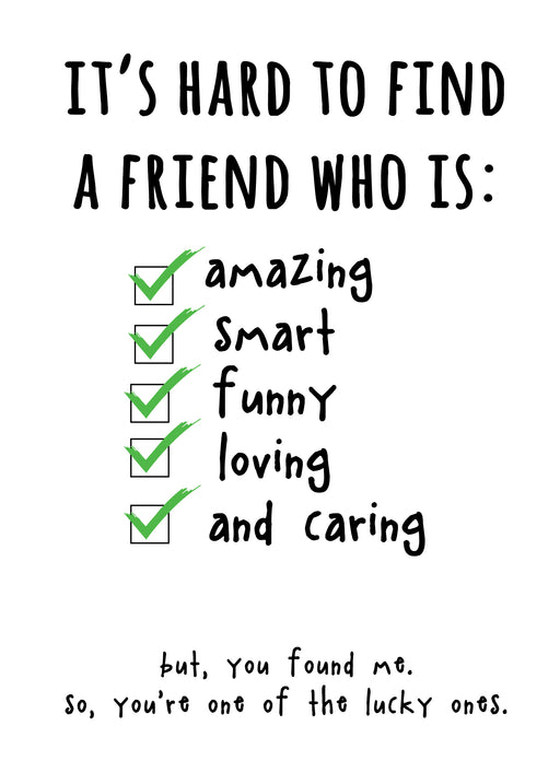 Best Friends Troll Card