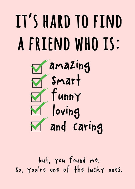 Best Friends Card - Funny Card