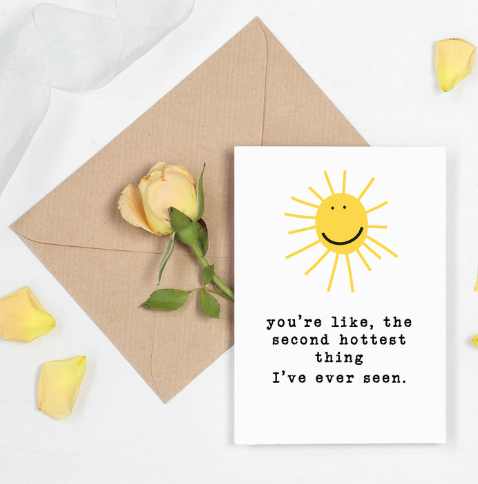 Perfect card for hot and sexy boyfriend or girlfriend - Tease them with this card.