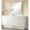 Image of Acme Bellagio 20395 Ivory High Gloss Finish Dresser-Dressers-Acme-bedsville.com