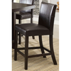 Image of Acme Bravo 07250 7-Piece Dining Set in Espresso PU and Espresso Finish-Dining Table Sets-Acme-bedsville.com