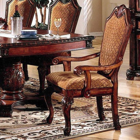 Acme Chateau De Ville Double Pedestal Espresso 7-Piece Dining Set-Dining Table Sets-Acme-Set A - 7 Piece (without the Hutch & Buffet)-bedsville.com