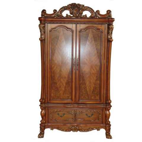 Acme Dresden 12147 Cherry Oak TV Armoire-Dressers-Acme-bedsville.com