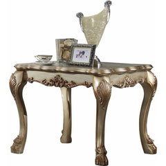Acme Dresden 83161 Gold Patina End Table