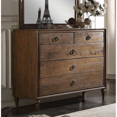 Acme Inverness 26095 Reclaimed Oak Finish Dresser