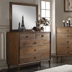 Acme Inverness 26095 Reclaimed Oak Finish Dresser-Dressers-Acme-bedsville.com