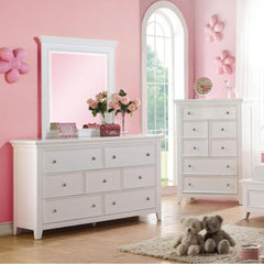 Acme Lacey 30601 White Kids Dresser
