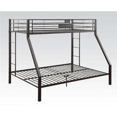 Acme Limbra Black Metal 38000 Twin XL over Queen Bunk Bed