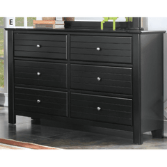 Acme Mallowsea 30395 Black Kids Dresser