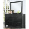Image of Acme Mallowsea 30395 Black Kids Dresser-Dressers-Acme-bedsville.com