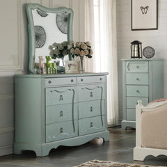 Acme Morre 30810 Antique Teal Finish Dresser