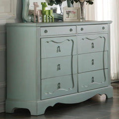 Acme Morre 30810 Antique Teal Finish Dresser-Dressers-Acme-bedsville.com