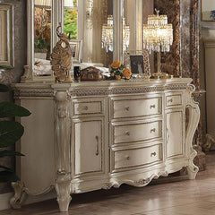 Acme Picardy 26885 Antique Pearl Dresser