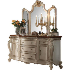 Acme Picardy 26905 Antique Pearl Dresser