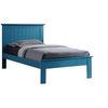 Image of Acme Prentiss Blue Solid Wood Panel Bed-Panel Beds-Acme-Twin-bedsville.com