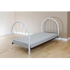 Acme Silhouette Twin Metal 02054 Panel Bed