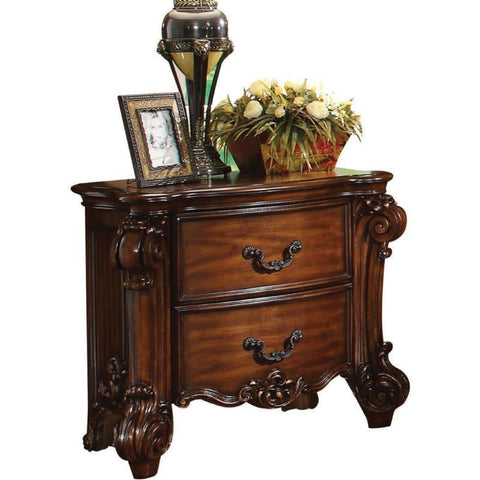 Acme Vendome 22003 Cherry Finish Nightstand-Nightstands-Acme-bedsville.com