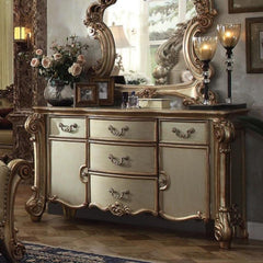 Acme Vendome 23005 Gold Patina Dresser