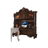 Image of Acme Versailles Computer Desk and Hutch 92280 in Cherry Oak-Office Desks-Acme-bedsville.com