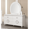 Image of Acme Vivaldi 20245 White High Gloss Finish Dresser-Dressers-Acme-bedsville.com