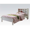 Image of Acme Yara White Solid Wood Twin 37058T Panel Bed-Panel Beds-Acme-Panel Beds-bedsville.com