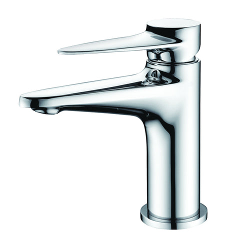 ALFI brand Polished Chrome AB1770-PC Modern Bathroom Faucet-Waterfall Bathroom Faucets-Alfi-bedsville.com