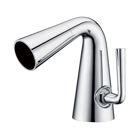ALFI brand Polished Chrome AB1788-PC Cone Waterfall Bathroom Faucet-Waterfall Bathroom Faucets-Alfi-bedsville.com