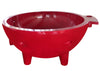 Image of ALFI brand Red FireHotTub-RW Portable Outdoor Hot Bath Tub-Bathtubs-Alfi-bedsville.com