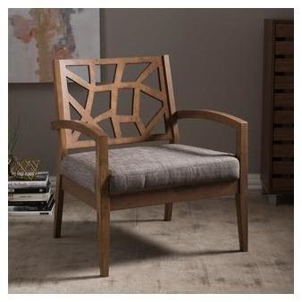 Baxton Studio Jennifer Lounge Chair-Accent Chairs-Baxton Studio-bedsville.com