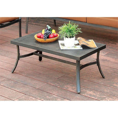 Furniture Of America Camille IDF-OS2501-C Patio Coffee Table-Patio Coffee Tables-Furniture Of America-bedsville.com
