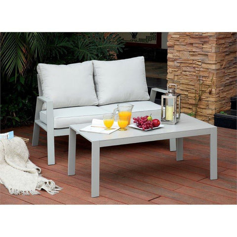 Furniture Of America Werner IDF-OC1765-C Patio Coffee Table-Patio Coffee Tables-Furniture Of America-bedsville.com