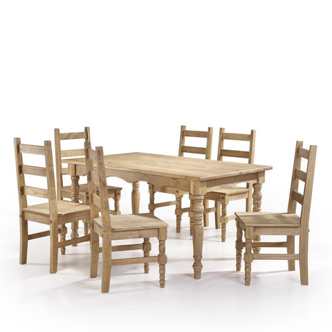 Manhattan Comfort Jay Dining Set 3.0-Dining Table Sets-Manhattan Comfort-NATURE-bedsville.com