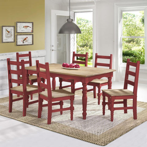 Manhattan Comfort Jay Dining Set 3.0-Dining Table Sets-Manhattan Comfort-BLUE WASH-bedsville.com
