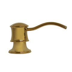Whitehaus Accessories WHSD45N-B Solid Brass Soap/Lotion Dispenser-Kitchen Accessories-Whitehaus-bedsville.com