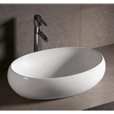 Whitehaus Isabella Collection WHKN1091 Oval Above Mount Basin-Above Mount Sinks-Whitehaus-bedsville.com