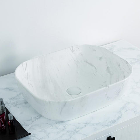 Whitehaus Isabella Plus Collection WH71302-F12 Above Mount Basin-Above Mount Sinks-Whitehaus-bedsville.com