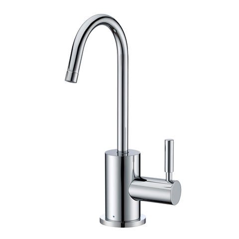 Whitehaus Point of Use WHFH-C1010-C Cold Water Drinking Faucet-Cold Water Dispensers-Whitehaus-bedsville.com