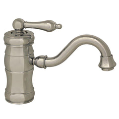 Whitehaus Vintage III WHSL3-9722-C Single Lever Lavatory Faucet-Single Hole Faucets-Whitehaus-bedsville.com