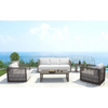 Image of Zuo Modern Coronado Cocoa and Light Gray 703823 Sofa-Sofas-Zuo Modern-bedsville.com