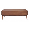 Image of Zuo Modern Design District Walnut 100091 Coffee Table-Patio Coffee Tables-Zuo Modern-bedsville.com