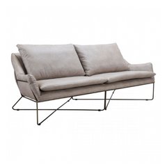 Zuo Modern Finn Distressed Gray 101004 Sofa