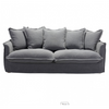 Image of Zuo Modern Livingston Charcoal Gray 101015 Sofa-Sofas-Zuo Modern-bedsville.com