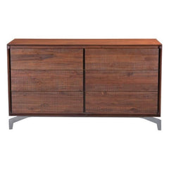 Zuo Modern Perth Chestnut 100587 Double Dresser