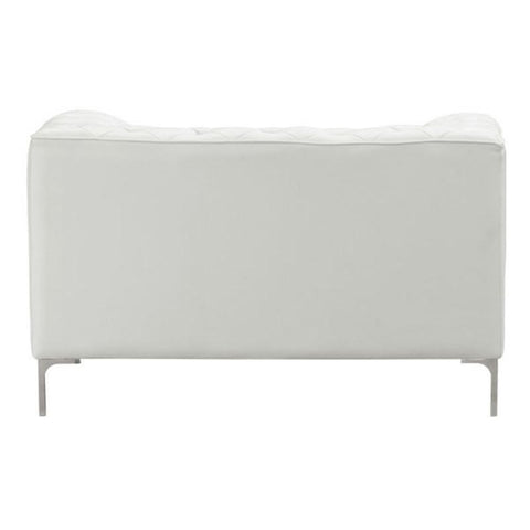 Zuo Modern Providence White 900271 Arm Chair-Arm Chairs-Zuo Modern-bedsville.com