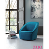 Image of Zuo Modern Pug Aquamarine 100251 Swivel Chair-Accent Chairs-Zuo Modern-bedsville.com