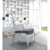 Image of Zuo Modern Vision Transparent 110030 Chair-Accent Chairs-Zuo Modern-bedsville.com